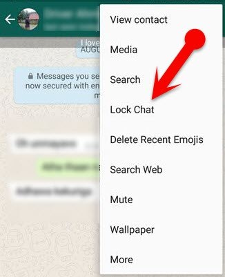 Cara Mengunci Whatsapp Dengan Password atau Pola di Android Tanpa Aplikasi