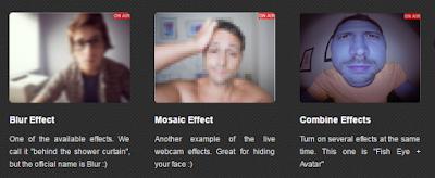 webcam video effects