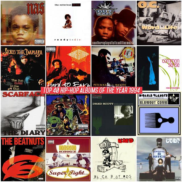 88ee1e589df Los mejores álbumes de Hip-Hop del año 1994 según la página Hip-Hop Golden  Age. Si quieres saber las razones y las canciones favoritas de cada álbum  visita ...