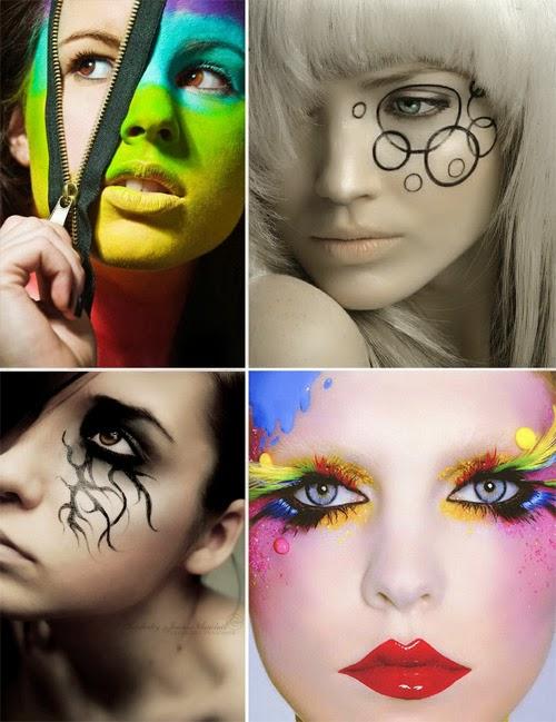 maquillaje halloween, diys, efectos especiales, caracterizarse, estética