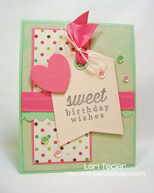 Sweet Birthday Wishes-designed by Lori Tecler-Inking Aloud-stamps and dies from Reverse Confetti