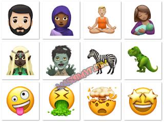 Apple iOS 11.1 New Emoji