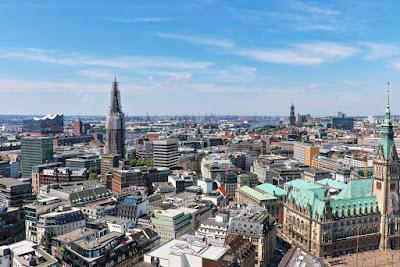 Hamburg von oben, Hamburg bilder kostenlos