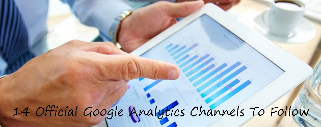 14 Official Google Analytics Channels To Follow