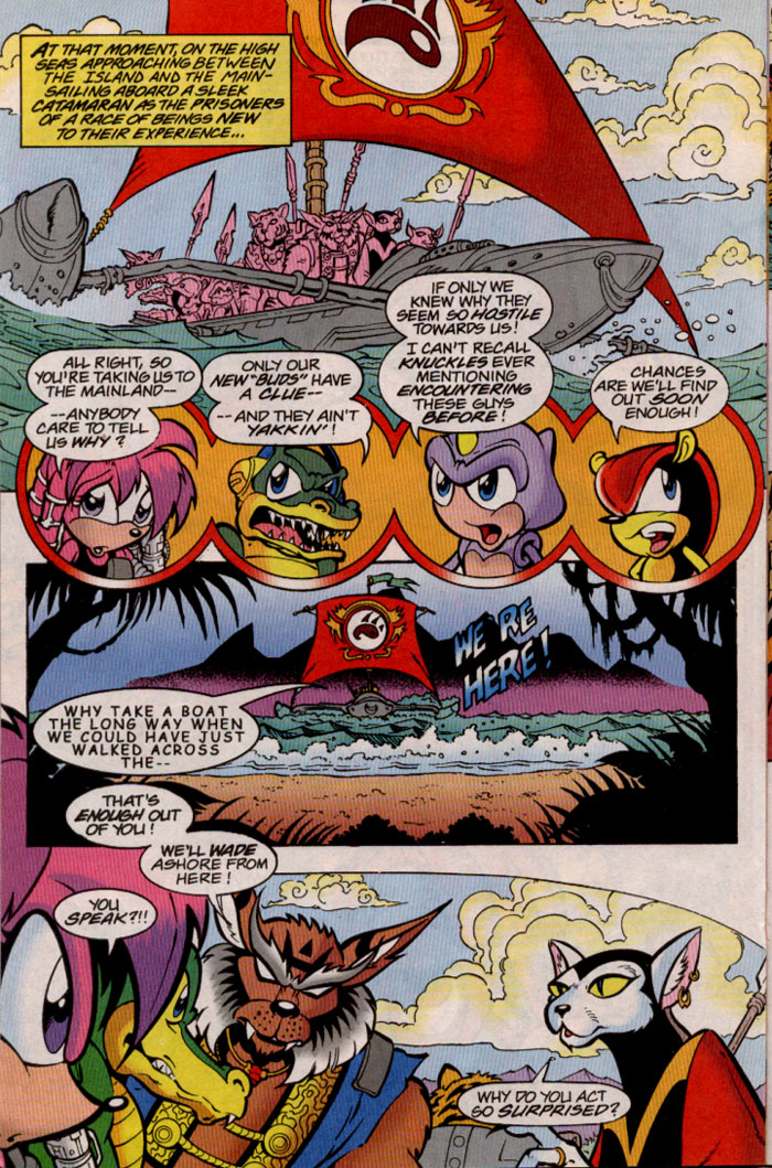 Read online Sonic The Hedgehog comic -  Issue #81 - 16