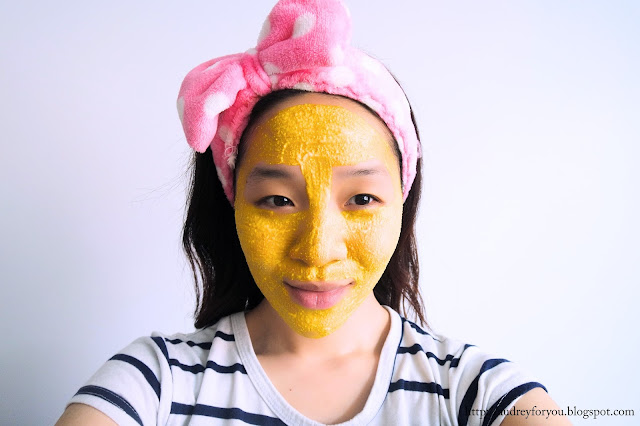 Life With Audrey DIY Turmeric Face Mask for Clear Bright Acne Blemish Free Skin