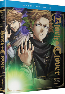 New on Blu-ray: BLACK CLOVER Season 2 Part 3 (Standard and ...