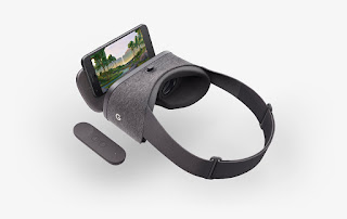 google daydream headset with controller