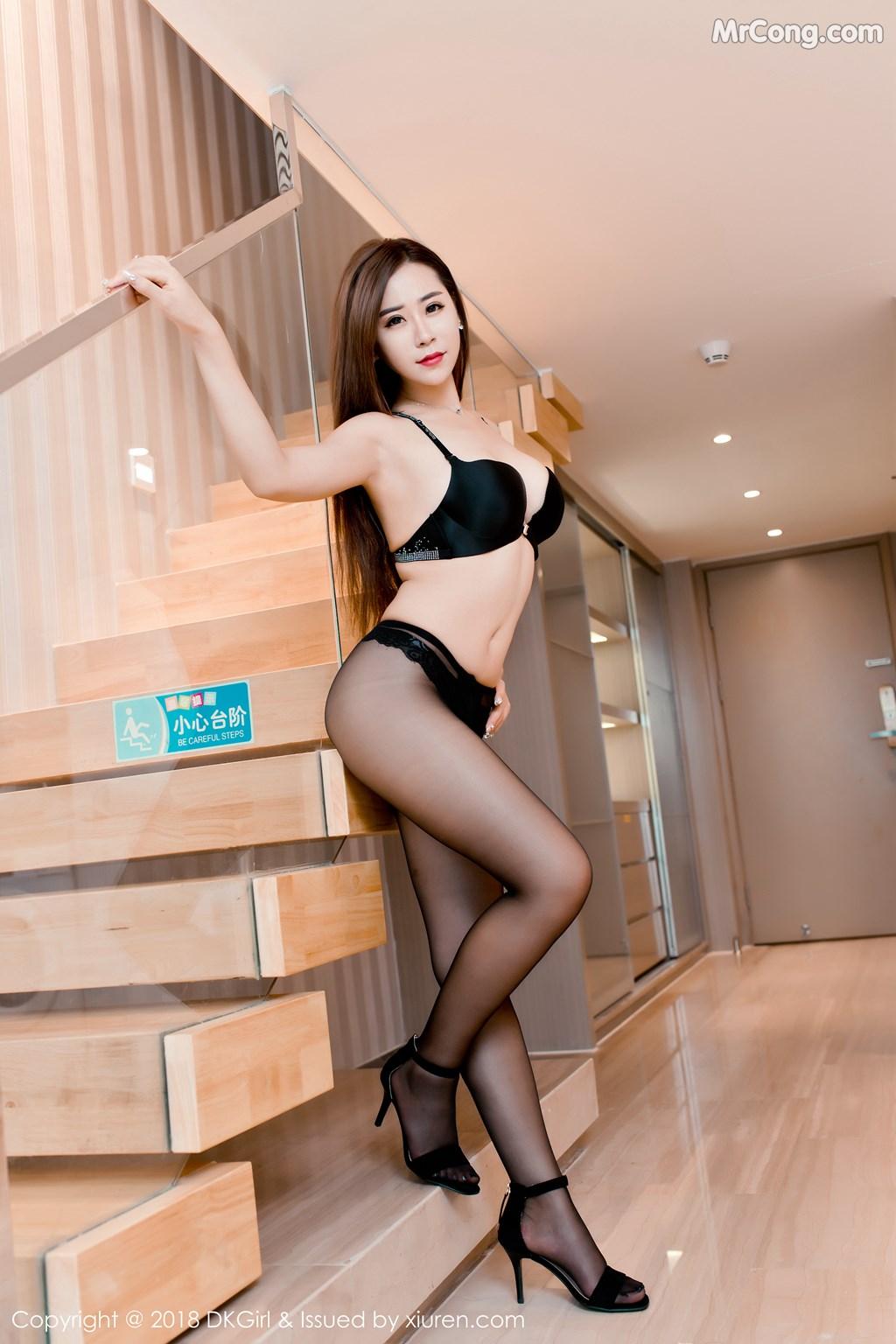 Image DKGirl-Vol.086-Cier-MrCong.com-007 in post DKGirl Vol.086: Người mẫu 雪儿Cier (47 ảnh)
