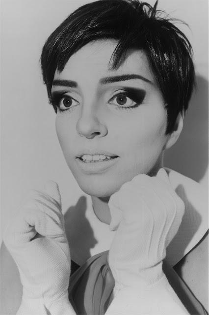 Liza Minnelli, fotografia di Michel Haddi