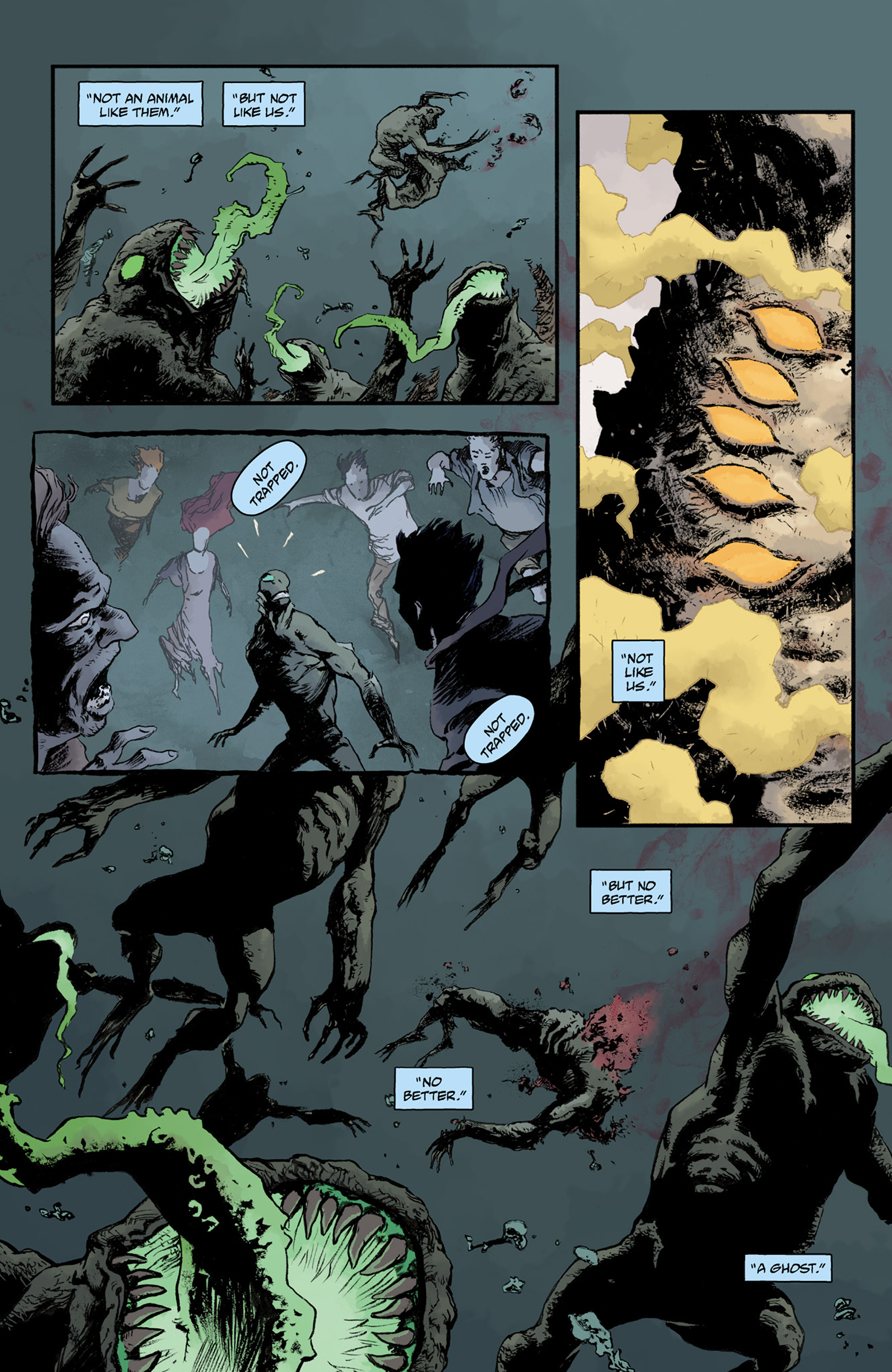Read online Abe Sapien comic -  Issue #25 - 22