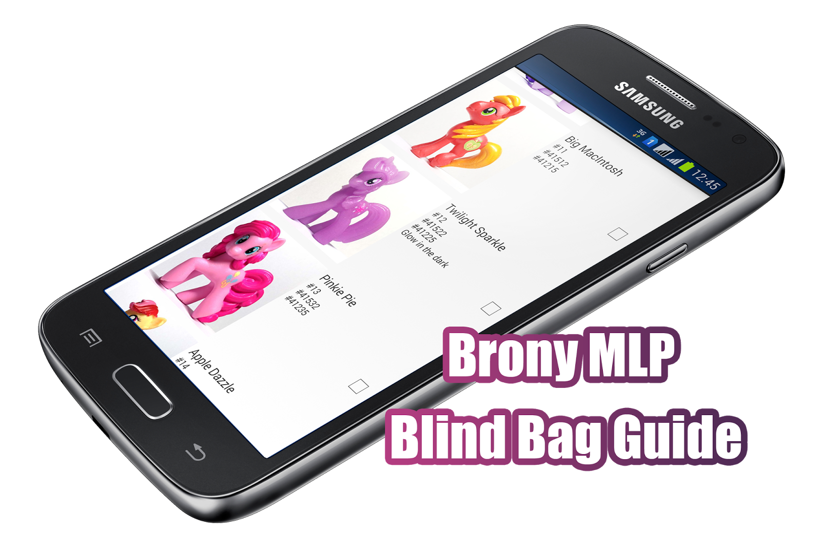 MLPMerch.com Blind Bag Database App