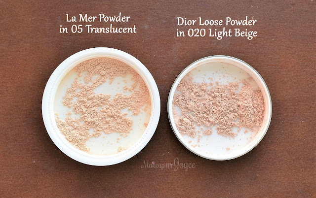 La Mer vs Dior Nude Air Healthy Glow Invisible Loose Powder Review