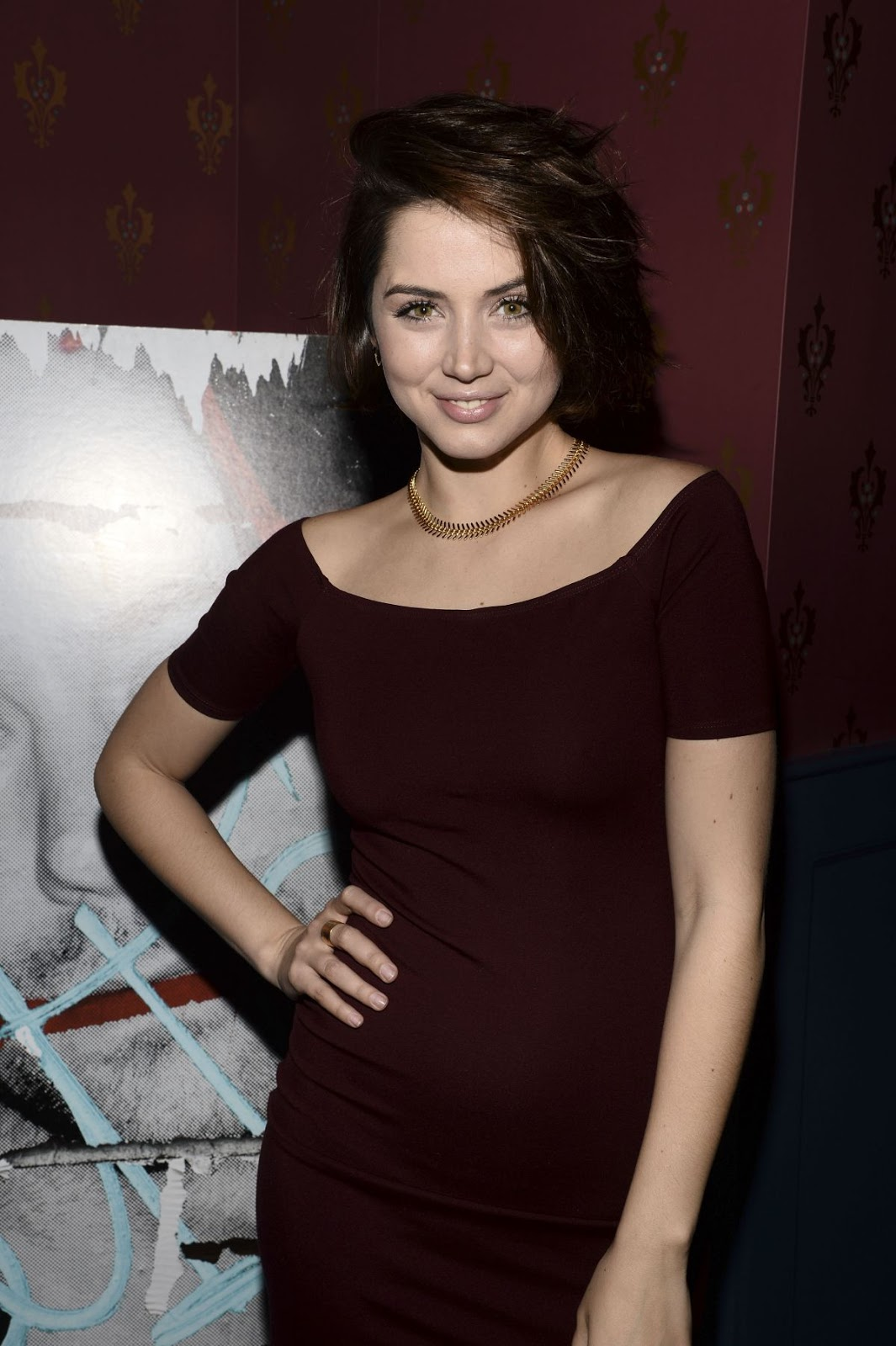 Ana De Armas at Billy Bates Premiere after Party in NYC
