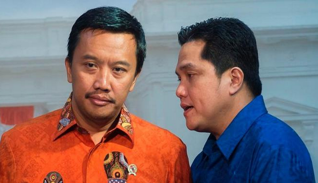 Erick Thohir Bicara Soal Guus Hiddink Latih Timnas Indonesia?