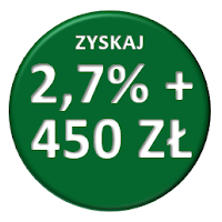 Mobilne Konto Oszczędnościowe w BZ WBK 2,7% i do 450 zł premii za konto osobiste