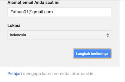 Membuat Akun Google Paling Terbaru !