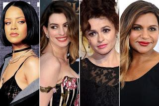 Sandra Bullock, Anne Hathaway, Cate Blanchett, Helena Bonham Carter, Rihanna, Mindy Kaling and Awkwafina of very popular film series of Hollwood 'OCEAN 8'