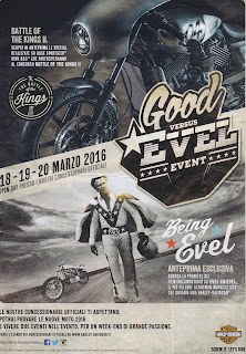 evel knievel tribute adversiting from harley davidson italia 2016