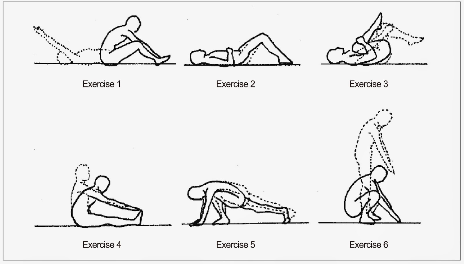 Pin Williams Flexion Exercises