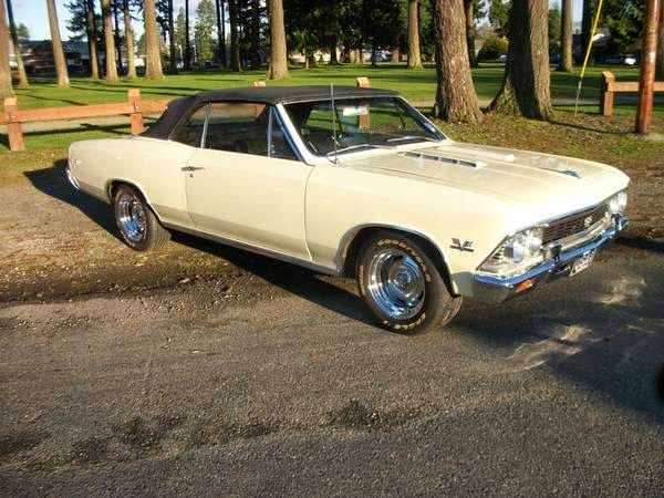 1966 Chevrolet Chevelle SS396 Convertible for Sale - Buy American