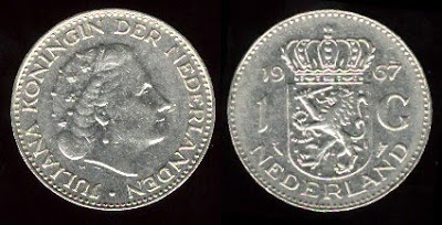 Netherlands  1 Gulden (1967-1980) nickel