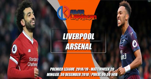 Prediksi Bola Liverpool vs Arsenal Liga Inggris