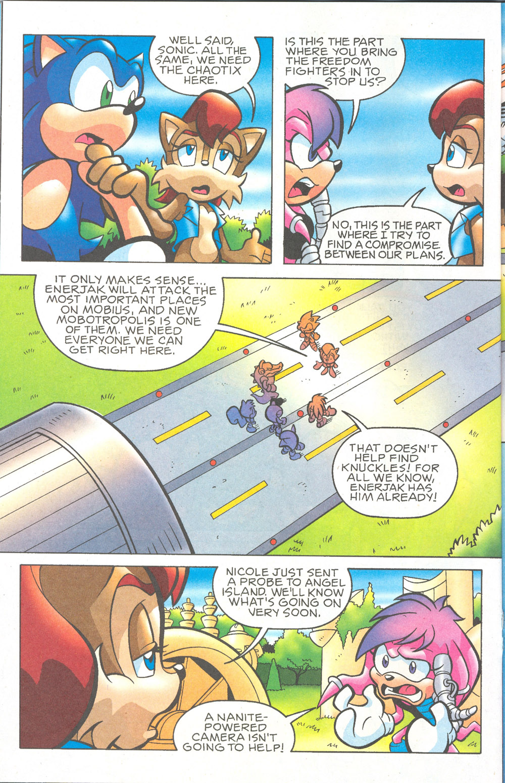 Read online Sonic The Hedgehog comic -  Issue #180 - 15