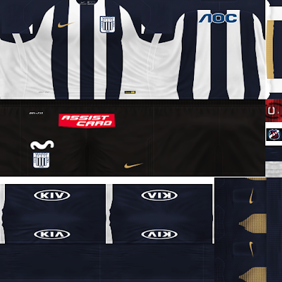 PES 6 Kits Club Alianza Lima Season 2018/2019 by JeremySvr