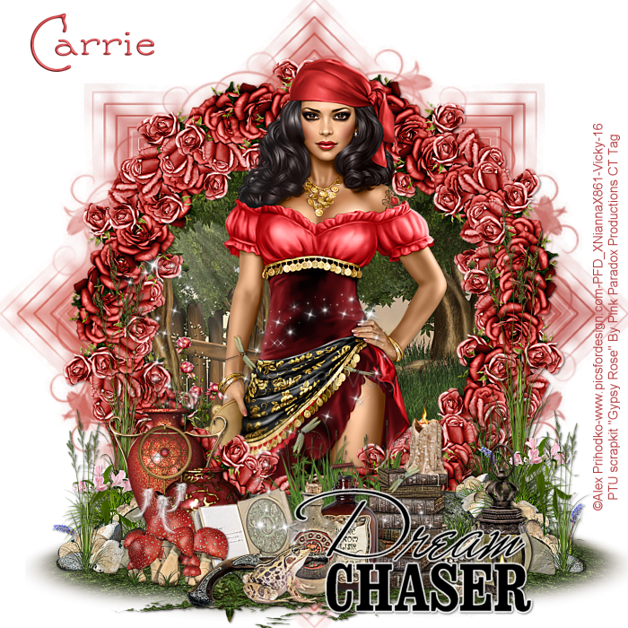 """PinkParadox Productions Creative Team: """"Gypsy Rose"""""""