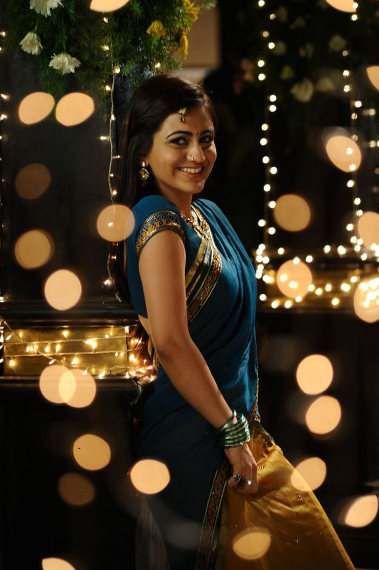 Tollywood actress Aksha Latest cute stills