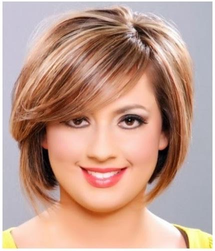 model rambut untuk wanita gemuk