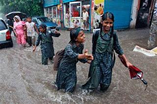 حیدراباد میں آج صبح کی اولین ساعتوں میں شدید بارش