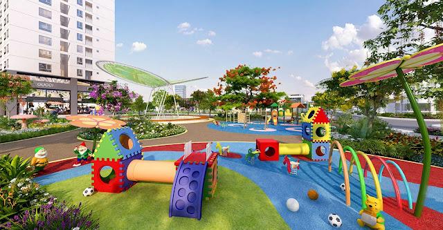 Khu vui chơi dành cho trẻ em tại Vincity Đại Mỗ