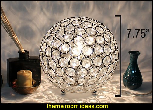 Crystal Ball Table Lamp