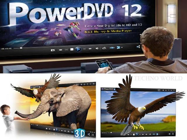 اقوى مشغلات DVD و 3Dفي العالم بلا منازعCyberLinK power DVD u