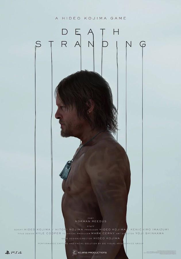 norman reedus death stranding poster