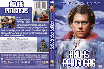 Filme Águas Perigosas (White Water Summer) DVD Capa