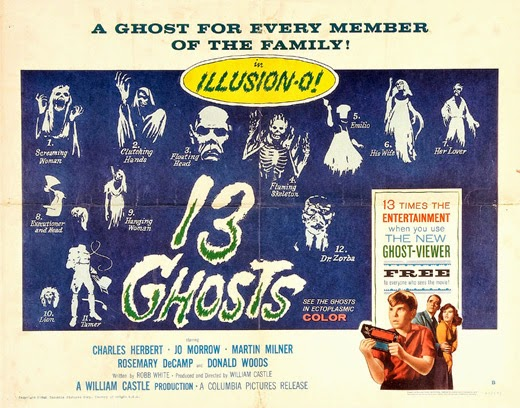 Poster - 13 Ghosts (1960)