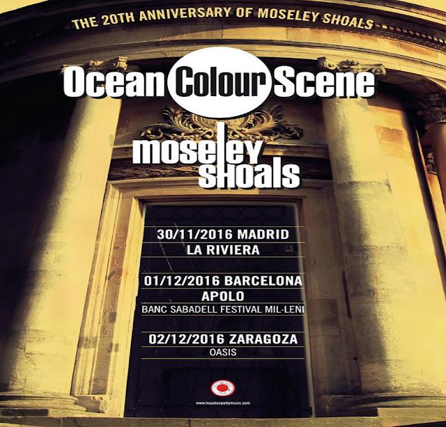 20 aniversario 'Moseley shoals' - Tres citas gira Ocean Colour Scene
