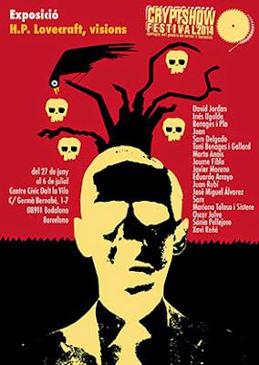 Exposición dedicada a Lovecraft en el Cryptshow 2014