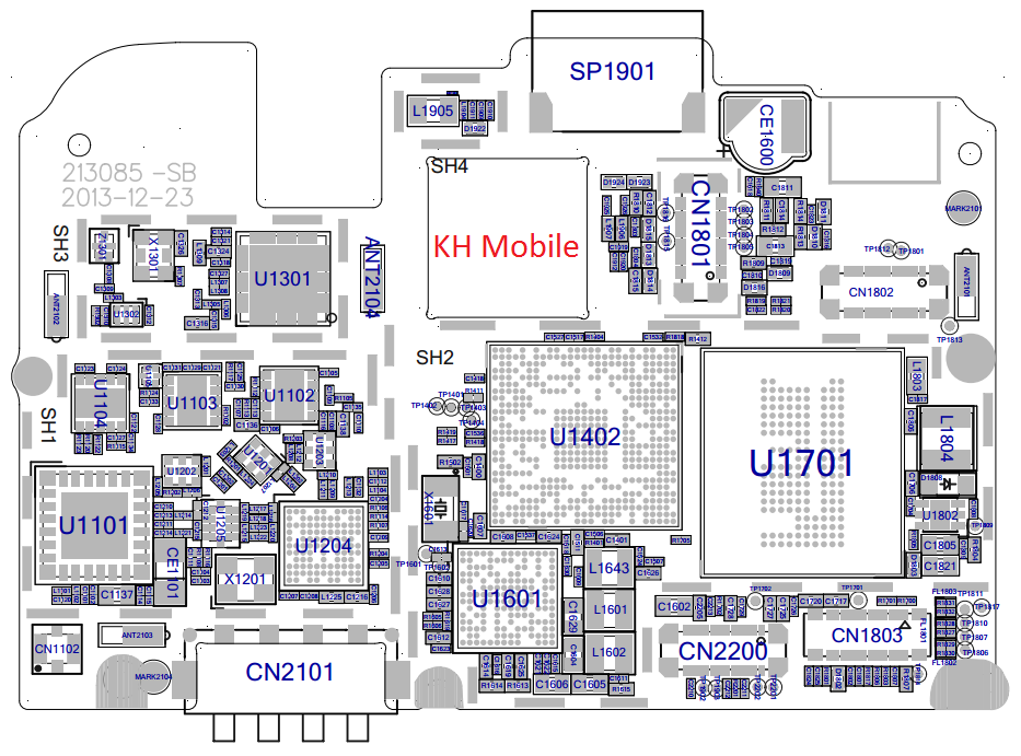 Oppo R2001 Schematic & Layout Diagrams  JMH