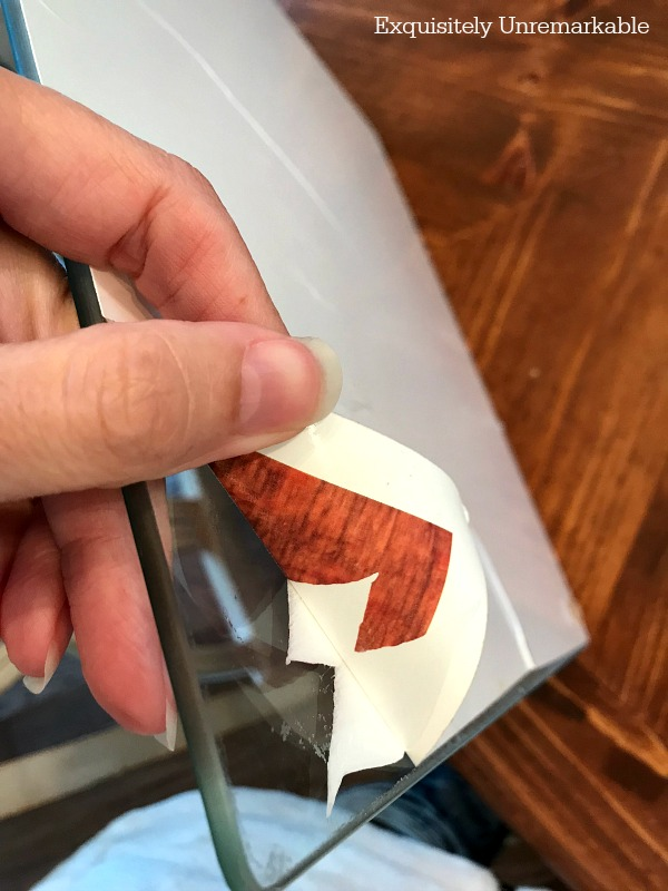 Removing The A Sticker From Glass Cutting Board