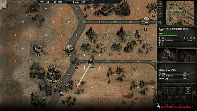 Warhammer 40000 Armageddon Gameplay Screenshot 2