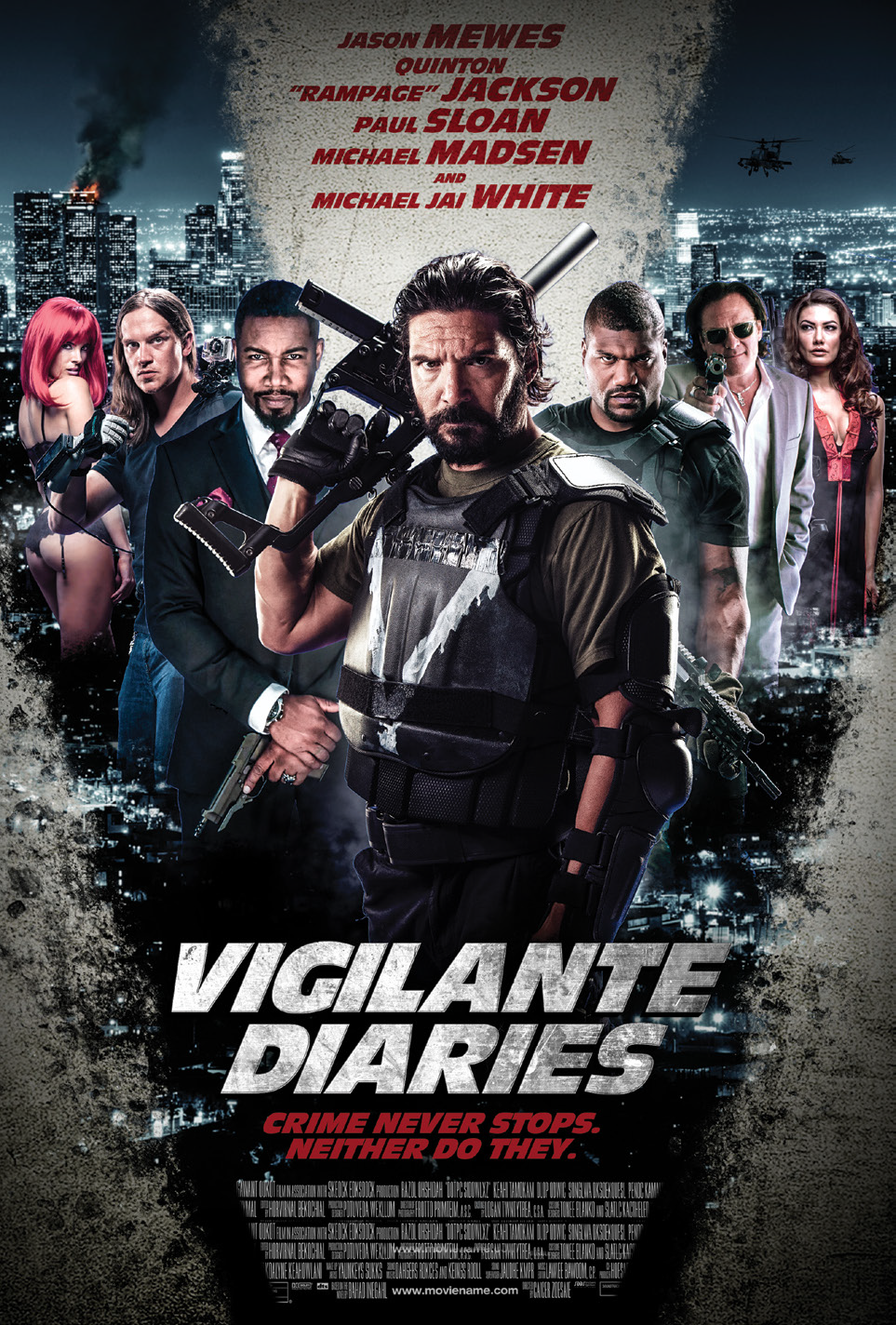 Vigilante Diaries (2016) Bluray 1080p Legendado