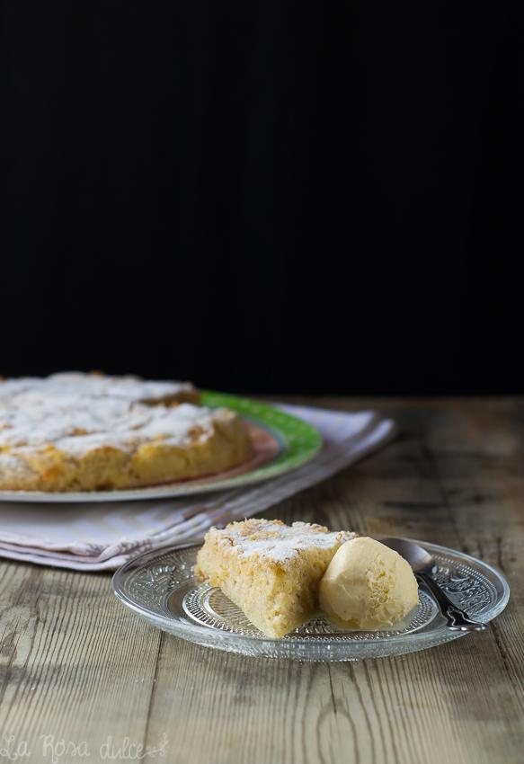 Tarta sueca de manzana sin gluten y sin lácteos La Rosa Dulce