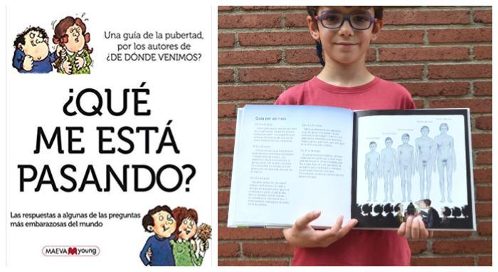 libro infantil juvenil pubertad cambios adolescencia ¿qué me está pasando? maeva ypung