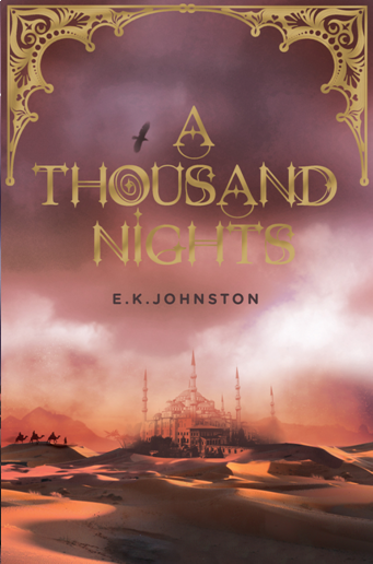 A Thousand Nights paperback early draft
