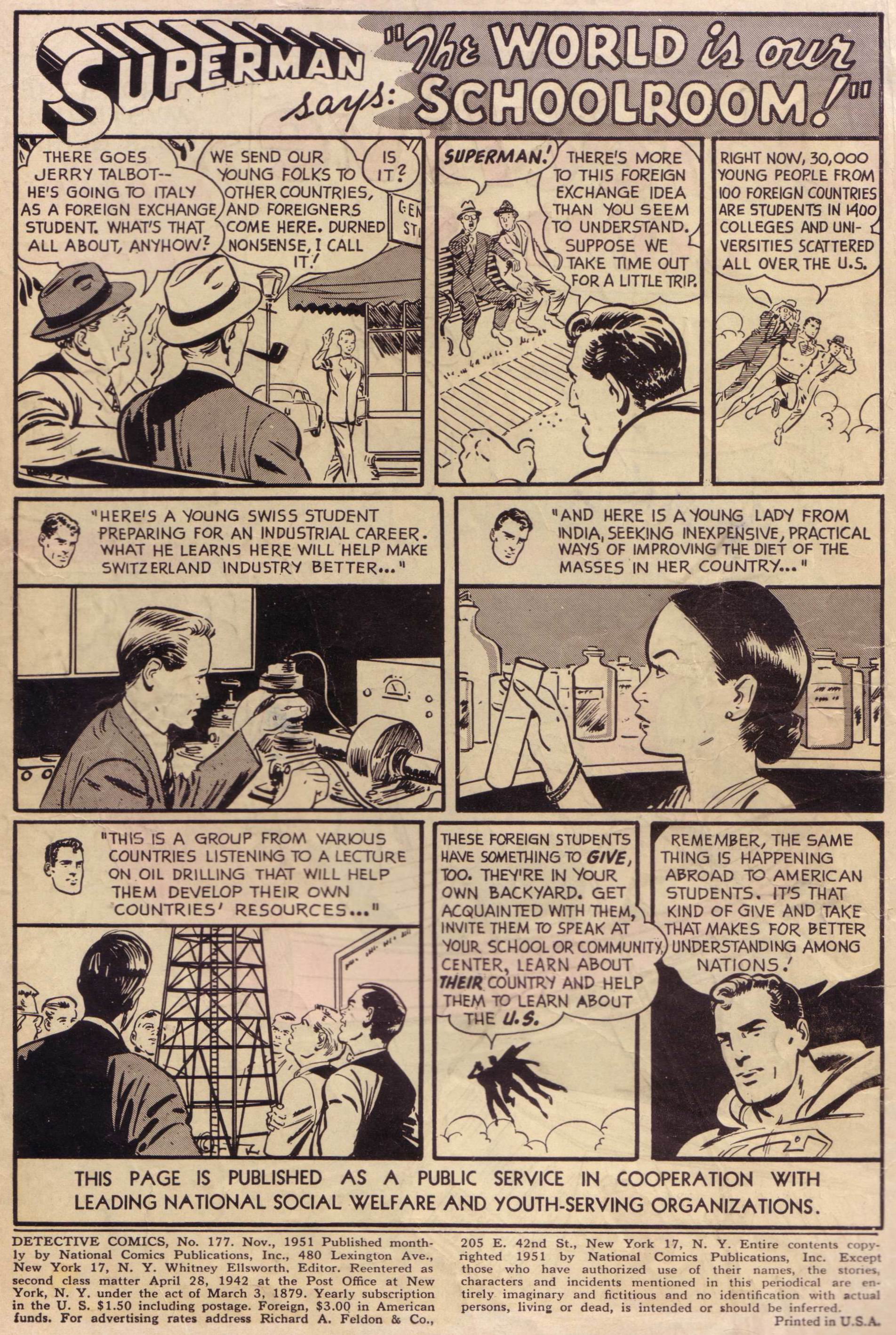Read online Detective Comics (1937) comic -  Issue #177 - 2