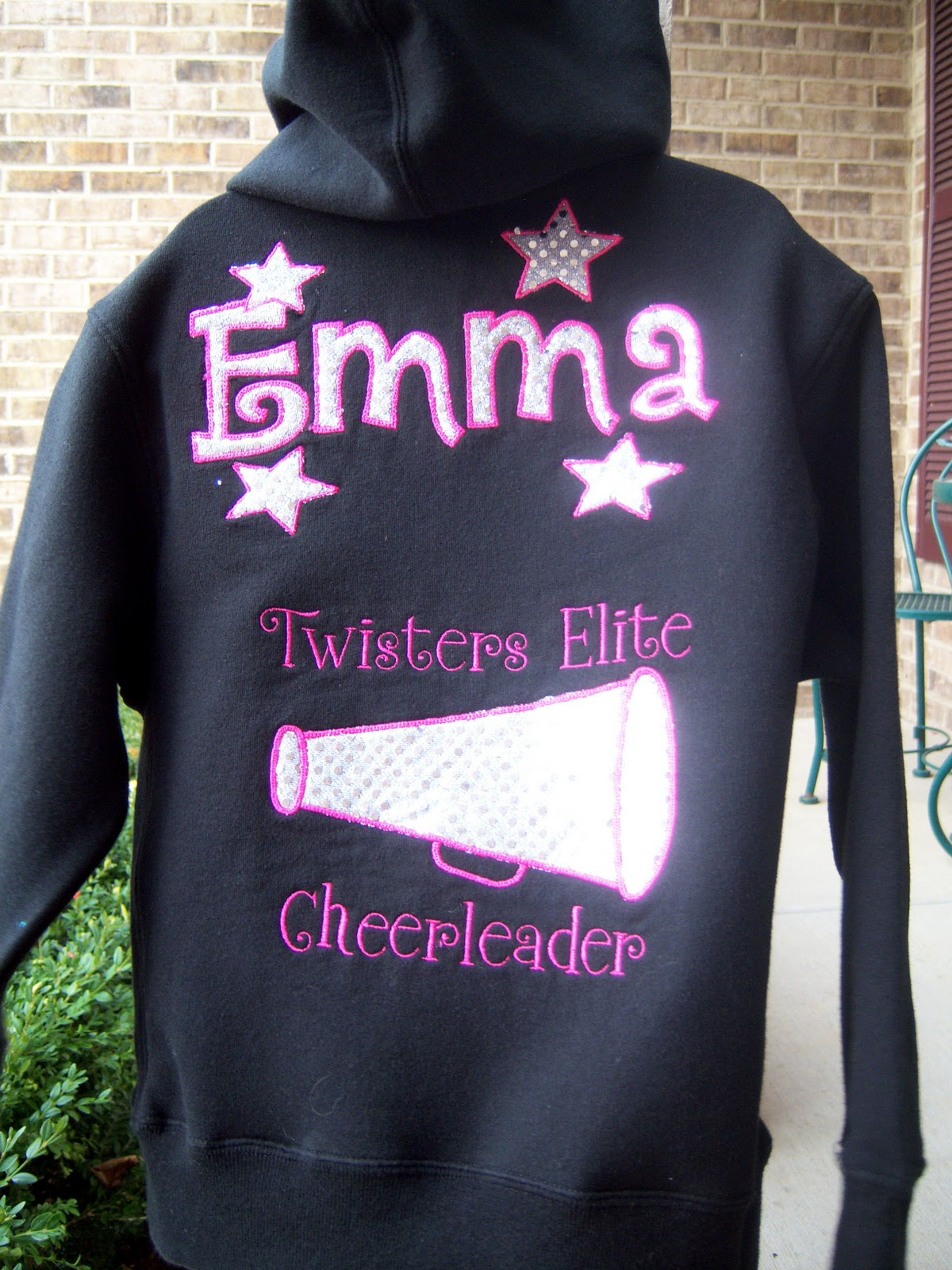 Cheerleading hoodies